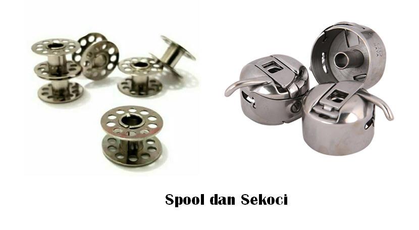 spool dan sekoci