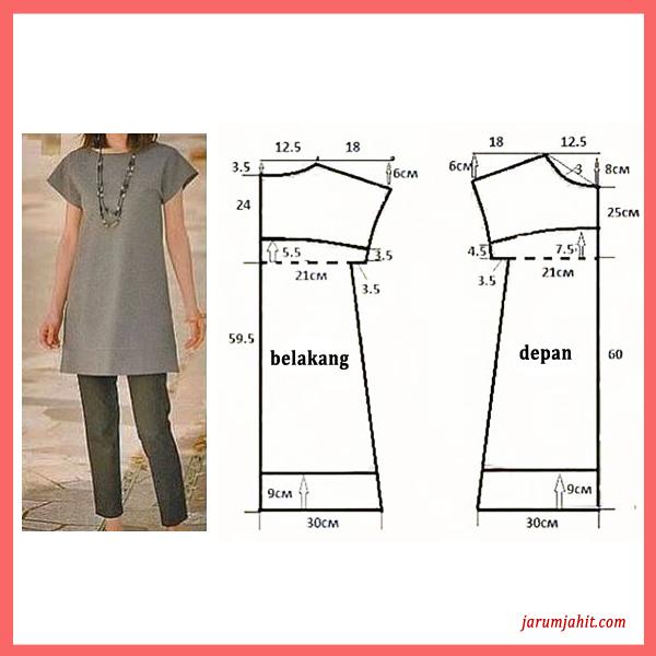 pola baju sederhana